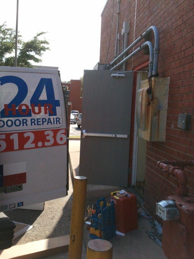 Steel Door Install Austin TX